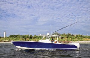 an image of the Jupiter 43 SF from Southern Boating