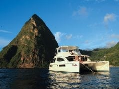 Powercats in the Caribbean, powercat charter, charter a powercat,