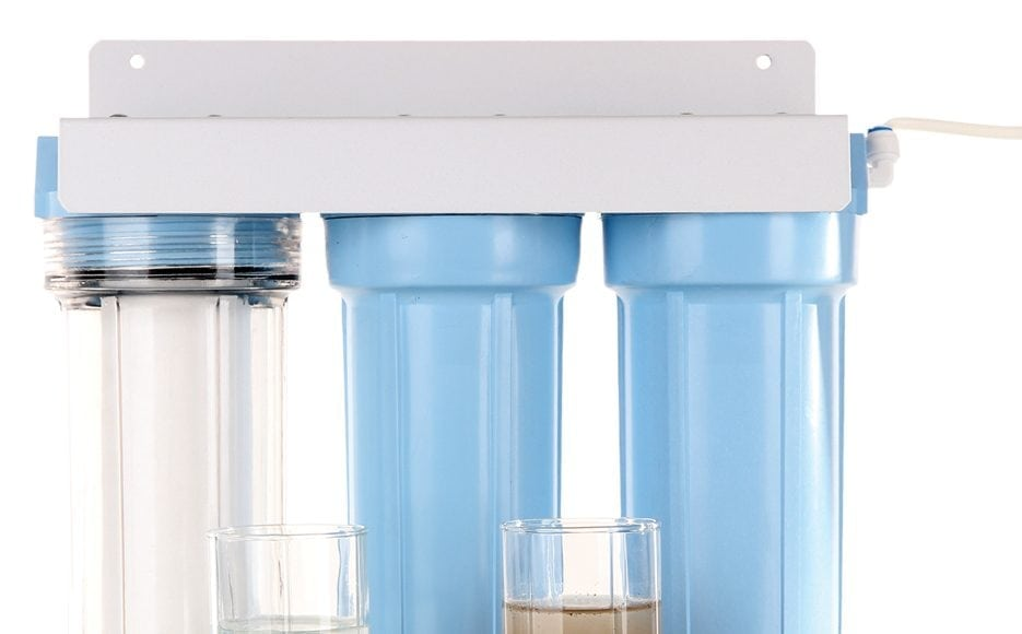 Install a potable water filtration system this spring