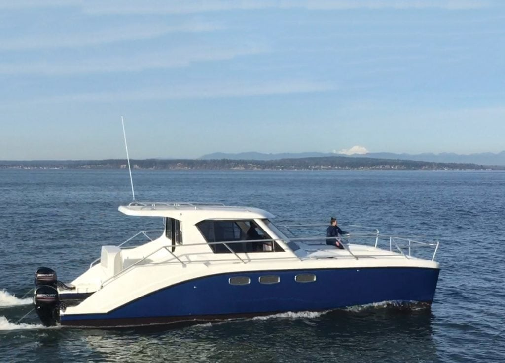 Endeavour 340 Powercat is one of the best catamarans out there for family dayboating