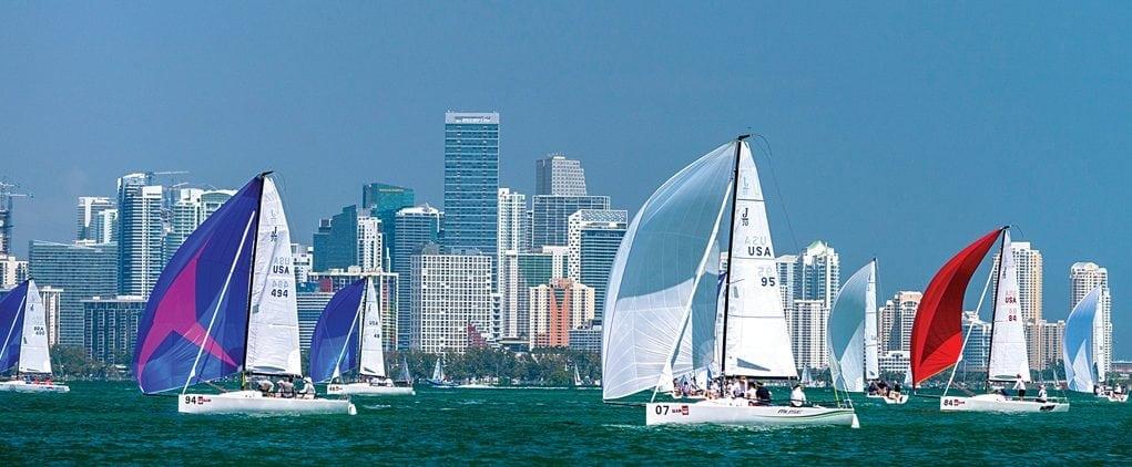 Miami Sailing Week 2018, sailing