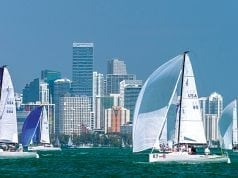 Miami Sailing Week 2018, sailing