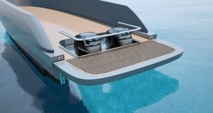 Opacmare adjustable swim platform