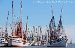 Blessing of the Fleet in Darien, Georgia
