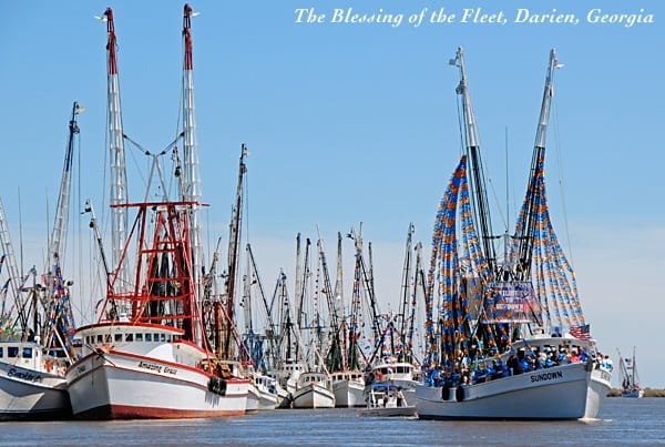 Blessing of the Fleet in Darien, Georgia