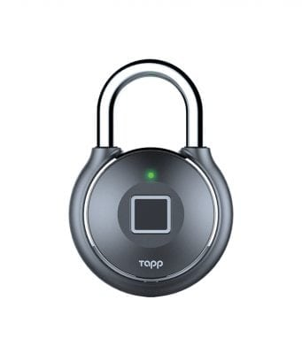 Unlock with the touch of your finger with Tapplock, the first fingerprint lock.