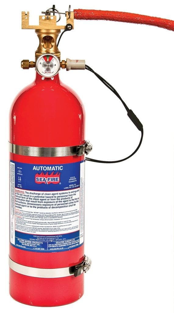Sea-Fire fire suppression systems for your boat