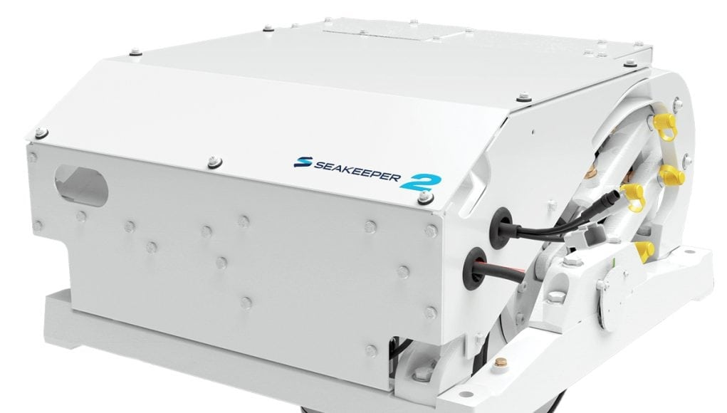 The Seakeeper 2 is one of the first stabilizers to reach down to the 20-foot boat market
