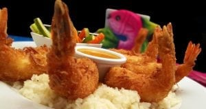 an image of baked coconut shrimp