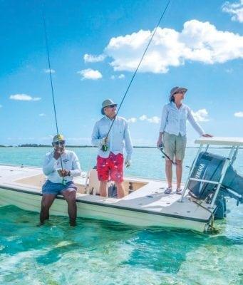 bonefishing in he Berry Islands