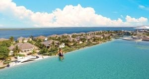 an image of the infinity pool at Resorts World Bimini