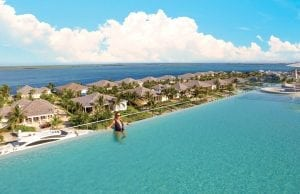 an image of the infinity pool at Resorts World Bimini