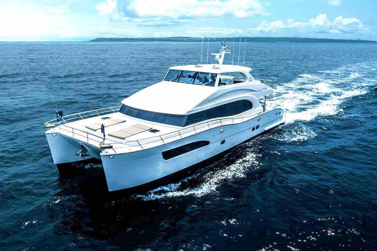 an image of the horizon power catamaran Horizon PC60