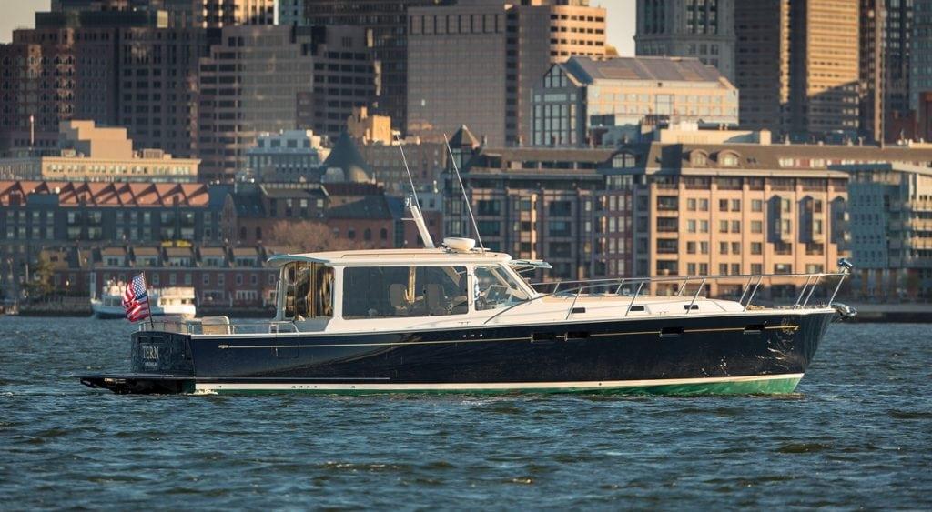 MJM Yachts 50z, designed by yacht designer Doug Zurn