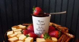 An image of chocolate fondue for Chocolate Fondue