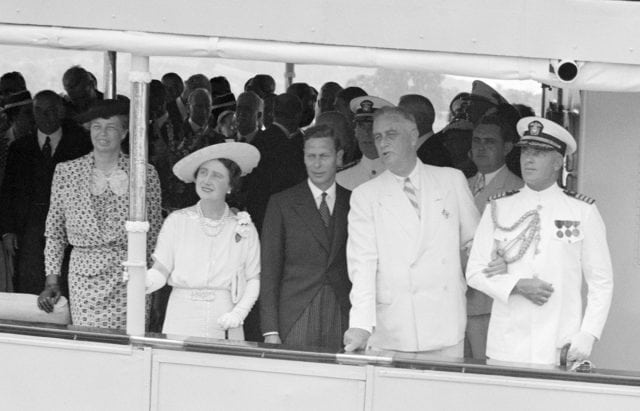 FDR on the m/y Potomac- Presidents on Yachts