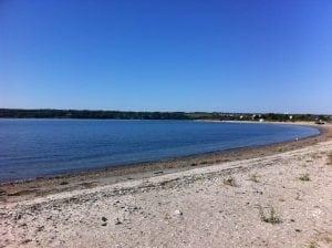 Fogland Beach in Tiverton Rhode Island