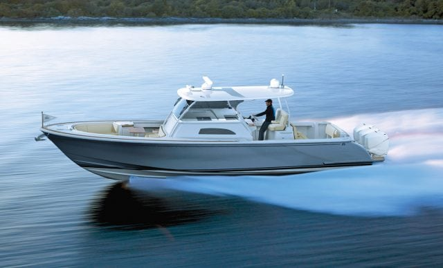 an image of the Hinckley Sport Boat