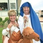 Holy Camel! This couple's costumes were hilarious