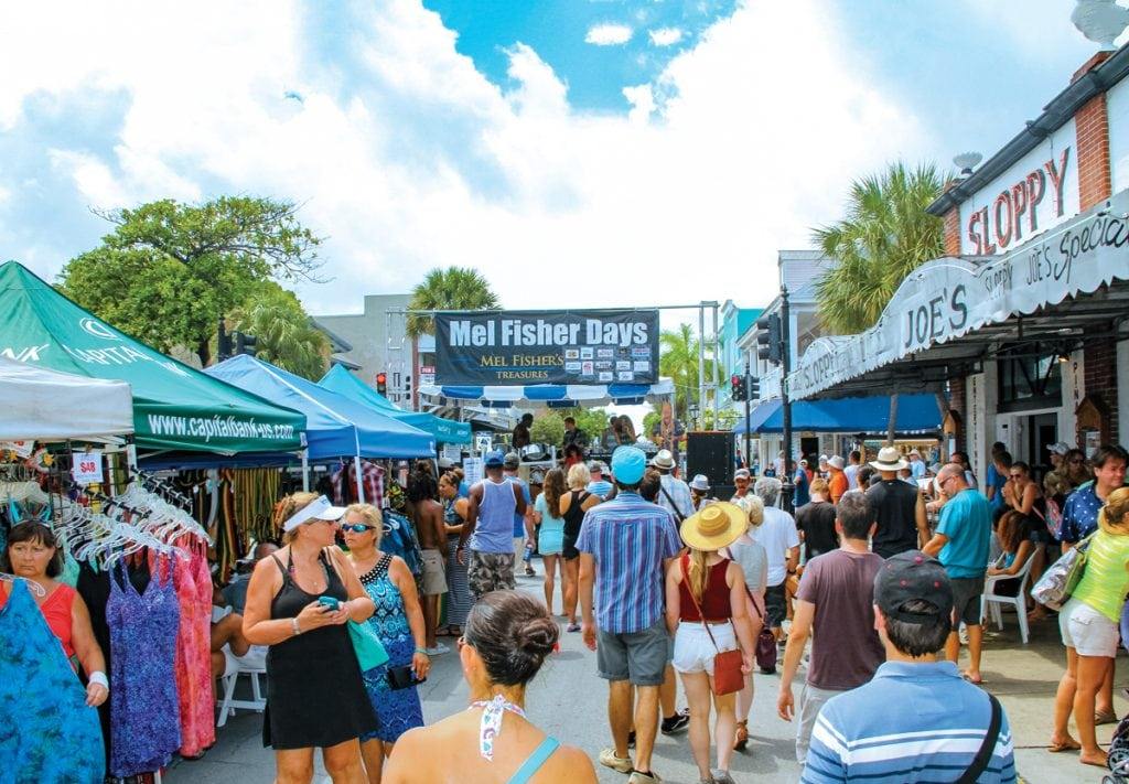 An image of Mel Fisher Days street festival