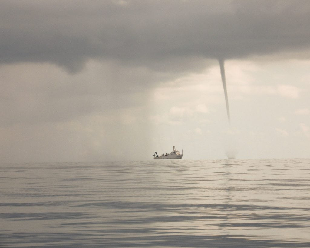 Tornadic Waterspouts
