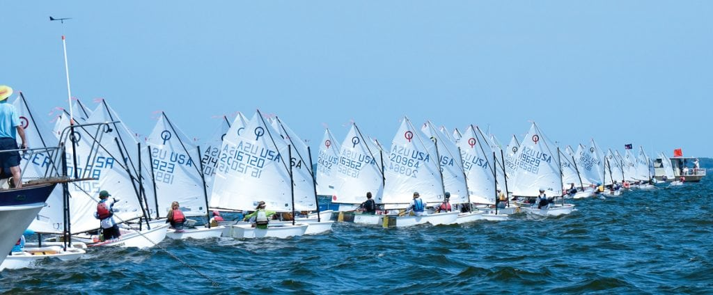 Optis at the Optimist National Championships