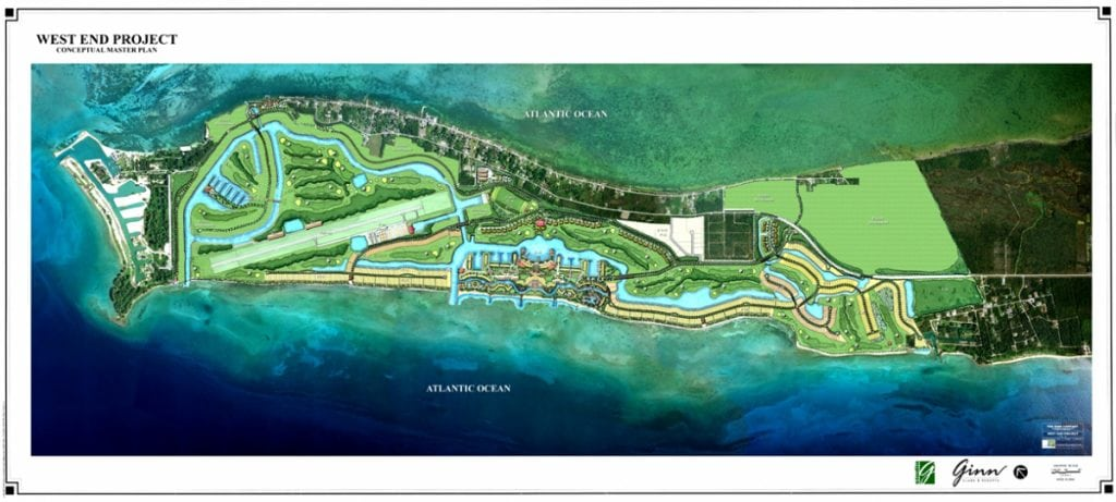 Plans for Grand Bahama Marina