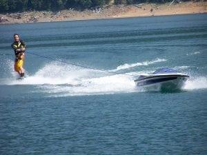 SOLO personal ski boat