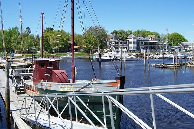 An image of Kennebunkport, Maine.