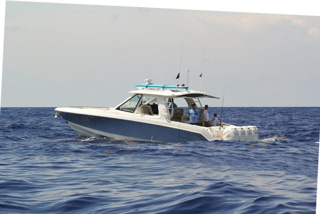 an image of a Boston Whaler 380 Realm