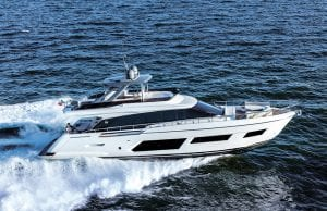 an image of the Ferretti Yachts 670