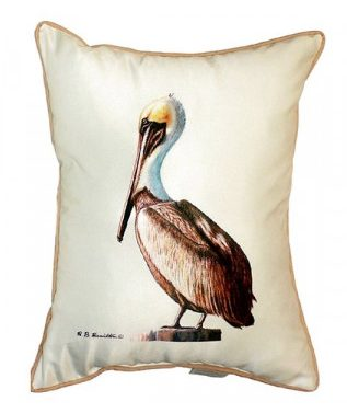 Spruce up your boat with this pelican Pillow