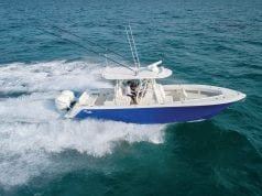 An image of the new SeaVee 322Z