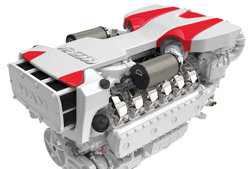 MAN Engines V12 2000 New Power Products