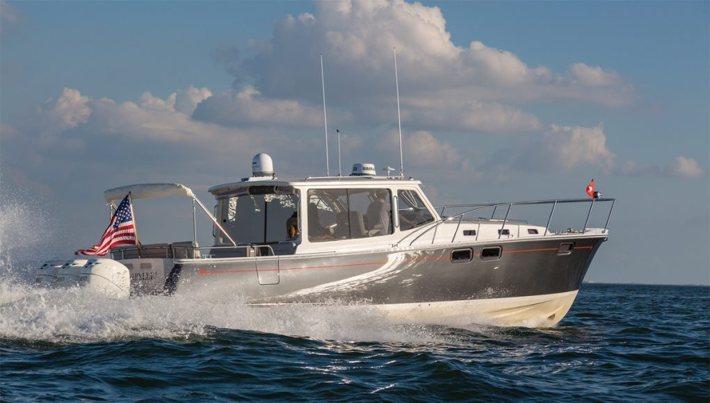 The MJM 43z from Southern Boating Magazine
