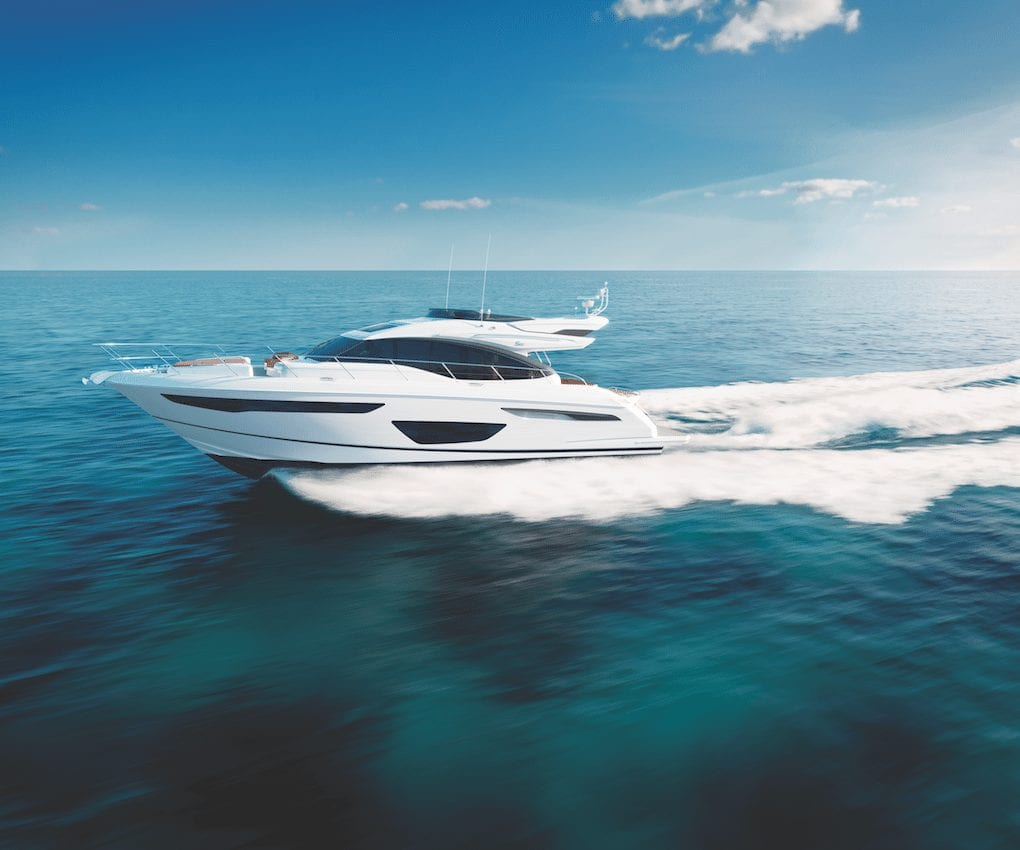 The Princess S60 Has it All - Southern Boating Media Group