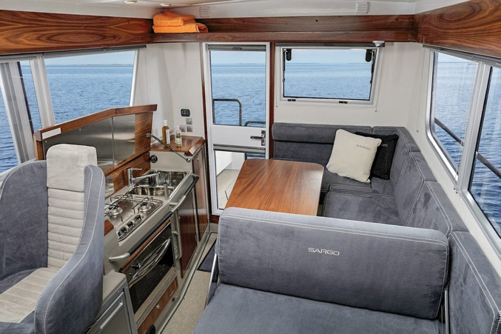 Interior of the Sargo 31