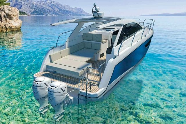 an image of the Sealine S330V