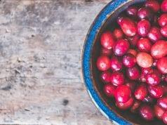 Cranberry Vanilla Cake