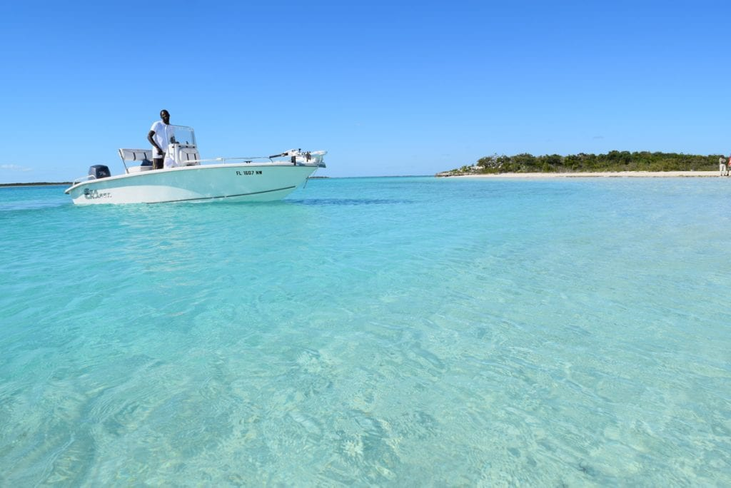 bonefishing in the Southern Exumas