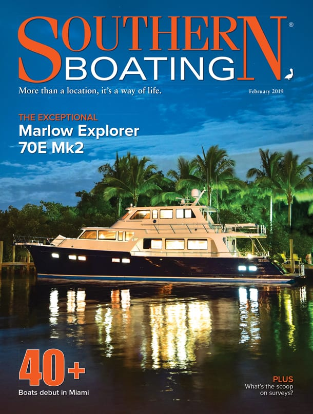 Southern Boating February 2019 Cover