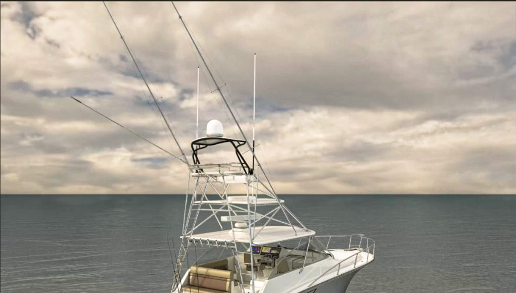 an image of the CABO 41 will launch at the Miami Yacht Show from Southern Boating