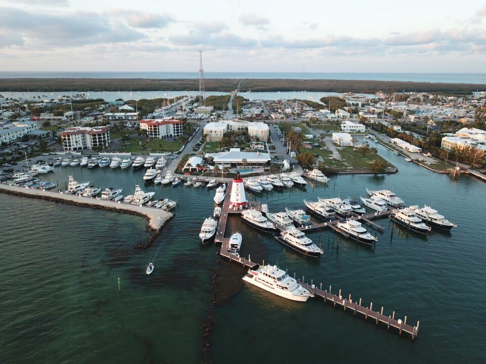 Faro Blanco is a top 12 marina resort