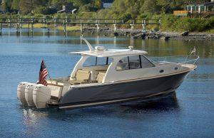 Hinckley Sport Boat Outboard Cruiser