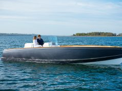 Hinckley_Dasher is electric power for boats