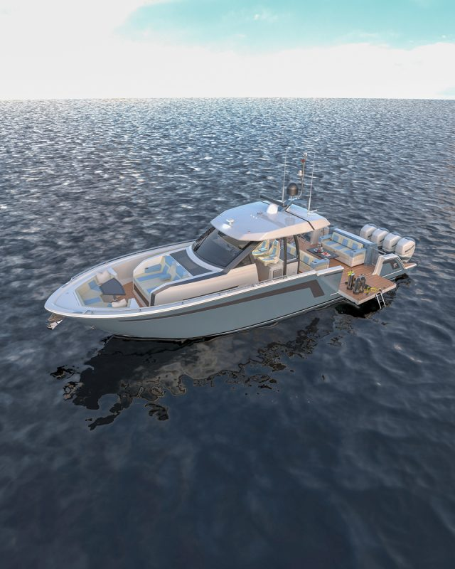 an image of the Ocean Alexander 45 Divergence from Southern Boating