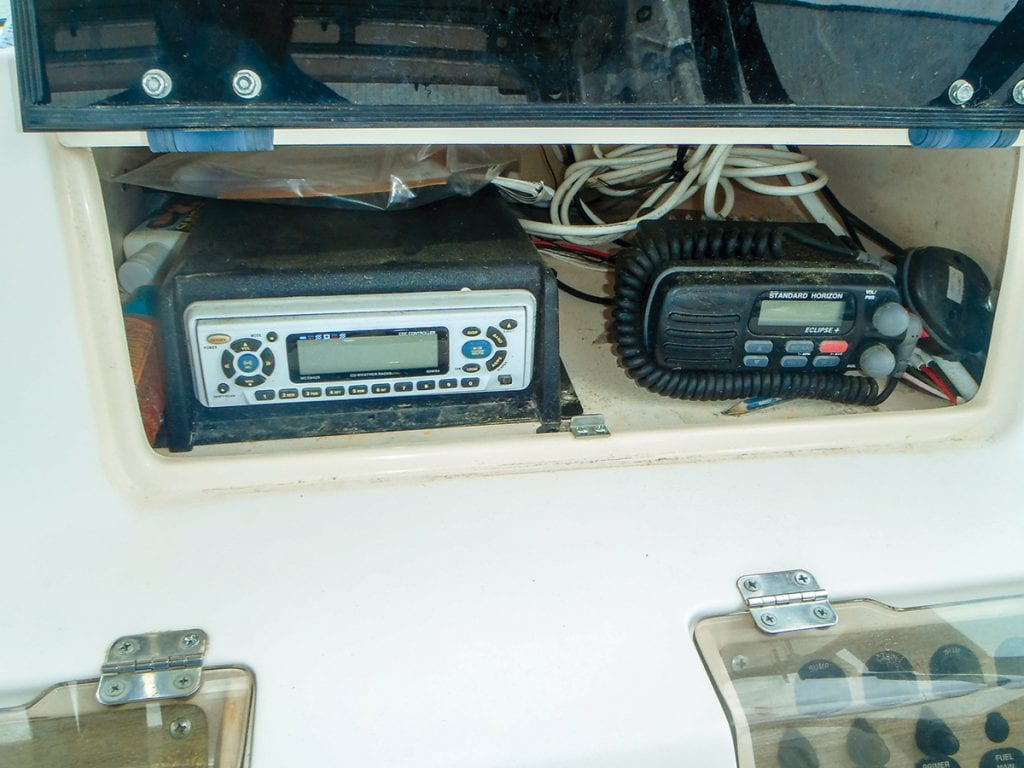 how to install a stereo on your boat