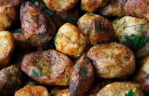 an image of salt-crusted potatoes
