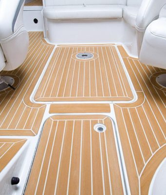 synthetic teak on a formula from Southern Boating