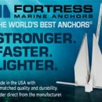 Fortress Anchors sidebar ad from Southern Boating